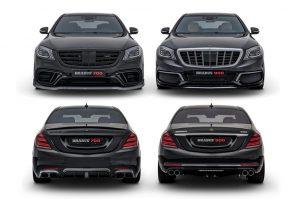 Nakon novih Brabusovih prerada, Mercedes S 63 4Matic i Mercedes-Maybach S 650 osnaženi na 700 KS i na 900 KS