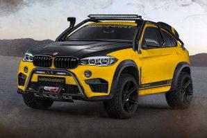 Samo pet sretnika moći će uživati u Manhartovoj ekstremnoj preradi BMW-a X6 – Manhart MHX6 Dirt² Concept