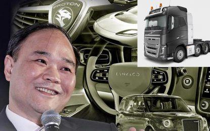 Geely objavio službene informacije o kupovini Volvo Trucksa