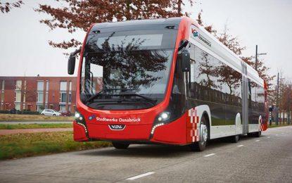 Za predstojeću elektrifikaciju javnog transporta u Osnabrücku, u Njemačkoj, odabrani VDL električni autobusi