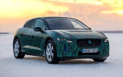 Pred zvanično predstavljanje, električni crossover Jaguar I-Pace testiran u ekstremnim zimskim uslovima u Švedskoj [Galerija i Video]