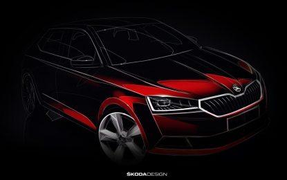 U martu, na sajmu automobila u Ženevi, Škoda će predstaviti redizajniranu Fabiju