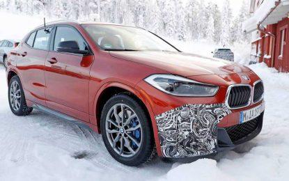 BMW X2 M35i gotovo bez kamuflaže na zimskim testiranjima [Galerija]