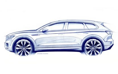 Nova generacija Volkswagena Touarega stiže krajem marta