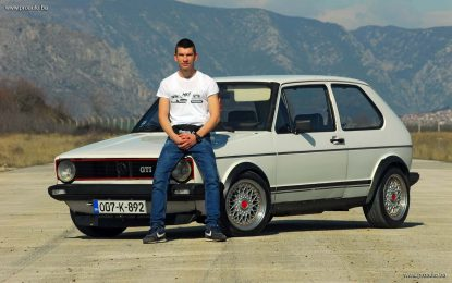 Golf Story – Suad Isović sa Volkswagen Golfom GTI Mk1 iz 1982.