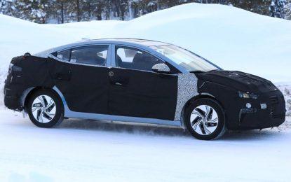 Testira se električna varijanta nove generacije Hyundai Elantre za globalno tržište