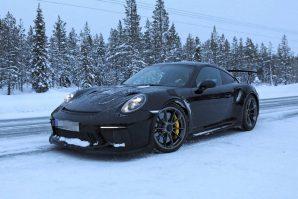 Snimljen novi Porsche 911 GT3 RS bez kamuflaže [Galerija]