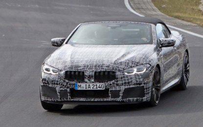 BMW M8 Convertible – testovi na Nürburgringu