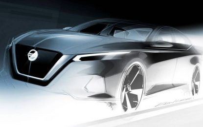 Nissan Altima – predpremijerni teaser