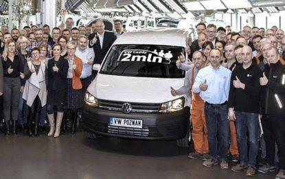U Poljskoj proizvedeno dva miliona Volkswagena Caddyja