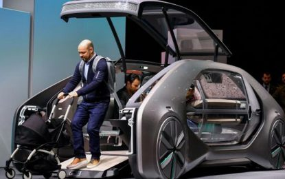 Renault EZ-Go – koncept električnog, autonomnog i robotiziranog vozila