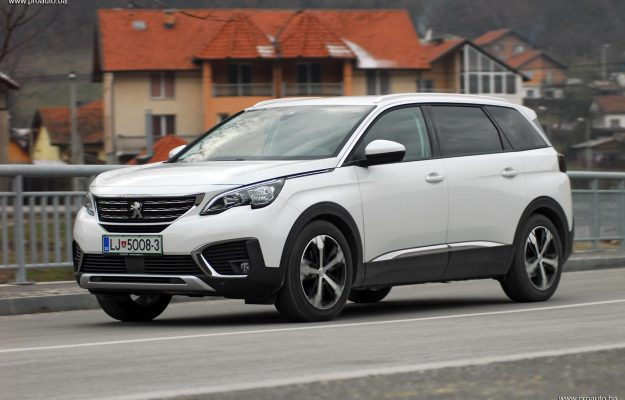TEST – Peugeot 5008 Allure 1.6 BlueHDi 120 Stop&Start EAT6