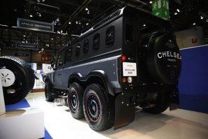Chelsea Truck Company pretvorio Land Rover Defendera 110 u veoma sposobnog troosovinskog luksuznog porodičnog terenca [Galerija]