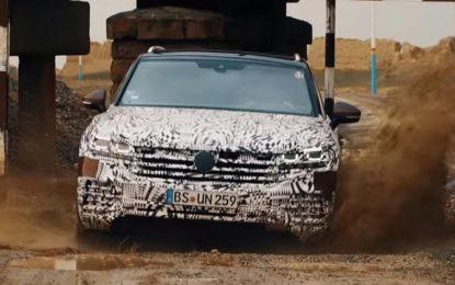 Volkswagen Touareg na premijeru u Peking stiže na točkovima (Video)