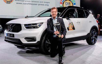 Volvo XC40 proglašen Evropskim automobilom godine