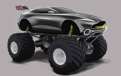 """Aston Martin sa modelom Project Sparta snažnim 1.100 KS nastupiće u ekstremnoj seriji """"Monster Jam"""""""