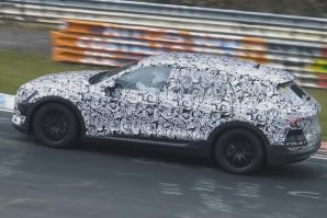 Prototip snažnog električnog Audija E-Tron testira se i na Nürburgringu [Video]