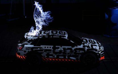 Audi e-tron u Faradayjevom kavezu [Video]