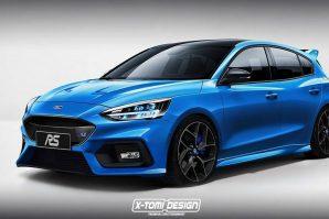 Ovako bi mogli izgledati novi Ford Focus ST i Focus RS