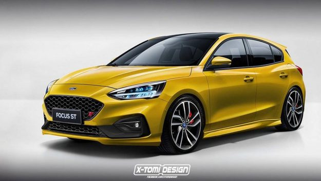 Novi Ford Focus 2018 >> ProAuto – Ovako bi mogli izgledati novi Ford Focus ST i Focus RS