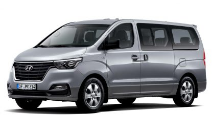 Urađena blaga dizanerska osvježenja na putničkom i dostavnom Hyundaiju H-1