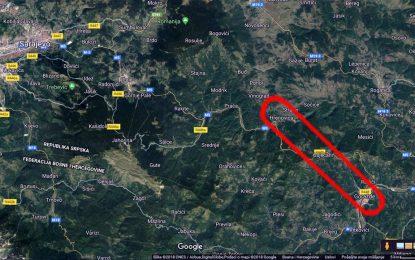 Završene dvije bušotine za tunel Hranjen, na planiranoj brzoj cesti koja će skratiti putnu komunikaciju između Sarajeva i Goražda (Video)