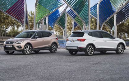 "Seat Arona osvojila nagradu ""Best Product Design 2018"""
