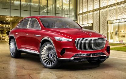 Vision Mercedes-Maybach Ultimate Luxury – koncept između SUV-a i sedana [Galerija i Video]