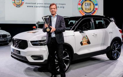 Hakan Samuelsson, predsjednik i izvršni direktor Volvo Carsa proglašen za svjetsku automobilsku ličnost 2018. godine