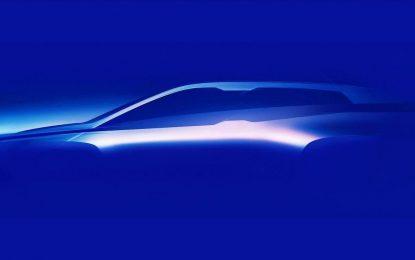 Prvi pogled na BMW iNext – za početak silueta