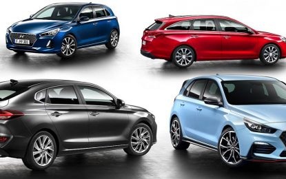 Četiri karoserije Hyundaija i30 [Video]