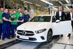Početak proizvodnje Mercedesa A-klase u Mađarskoj [Video]