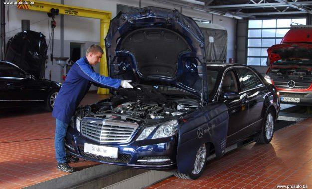 Servisna akcija kod ovlaštenog Mercedes-Benzovog partnera u Sarajevu