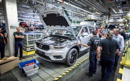 Zbog velike potražnje za modelom XC40, Volvo u Belgiji proširuje proizvodne kapacitete