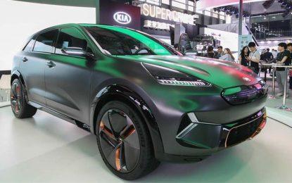 """Kia Motors na sajmu """"CES Asia 2018"""" u Šangaju predstavlja svoju viziju budućnosti, te izlaže električni Kia Niro EV Concept"""