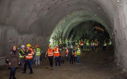 Probijena i lijeva cijev tunela Pečuj na Koridoru Vc [Galerija]