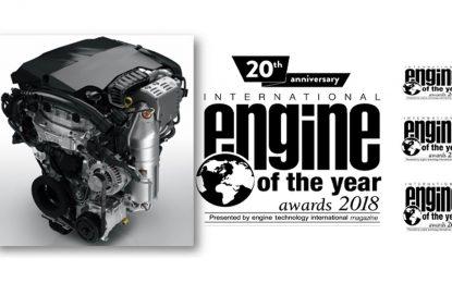 Benzinski turbomotor PureTech grupacije PSA osvojio nagradu Međunarodni motor godine u svojoj kategoriji