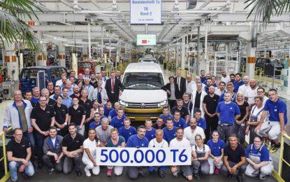 Volkswagen u Hannoveru proizveo pola miliona primjeraka Transportera T6