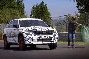 Postignut novi rekord Nürburgringa sa Škodom Kodiaq RS [Galerija i Video]