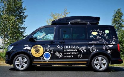 """Volkswagen Privredna vozila podržavaju """"EU Road Trip Project"""" – treći dio – Putovanje Dunavom"""
