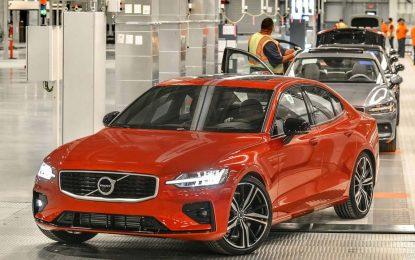 Novi Volvo S60 počeo silaziti sa proizvodnih traka nove tvornice u SAD-u [Galerija i Video]