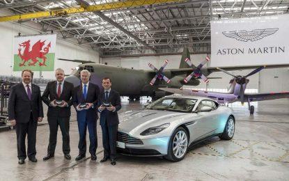 Aston Martin otvara novu tvornicu na aerodromu