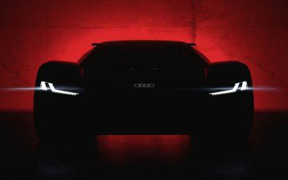 Audi PB18 e-tron – prvo predstavljanje na trkaćoj stazi