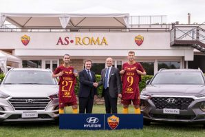"""Hyundai Motor potpisao višegodišnji partnerski ugovor s AS """"Roma"""""""