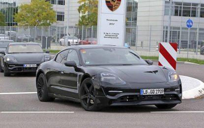 Objavljena tehnička specifikacija za električni Porsche Taycan