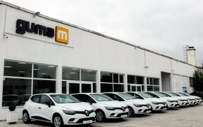 Renault isporučio NELT-u flotu novih vozila Clio
