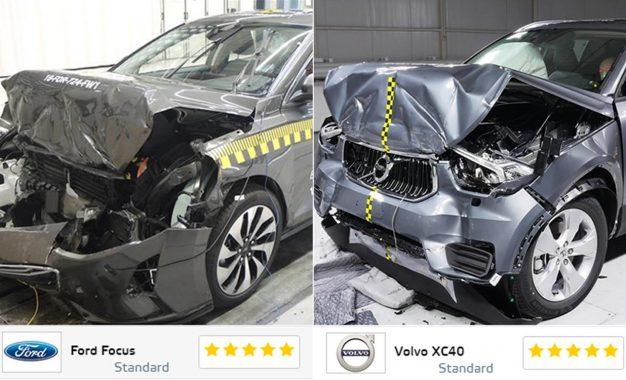 Na posljednjem EuroNCAP-ovom testu sigurnosti Ford Focus i Volvo XC40 ocijenjeni odličnom ocjenom [Galerija i Video]