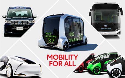 Toyota priprema gracioznu mobilnost za sve – pred Olimpijske i Paraolimpijske igre Tokyo 2020