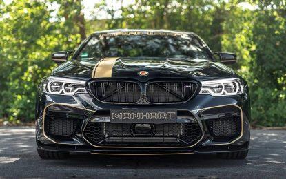 BMW M5 Competition F90 kod Manharta osnažen za dodatnih 99 KS [Galerija i Video]