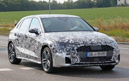 Prototip novog Audija A3 na javnim cestama